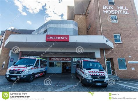Emergency Department At Box Hill Hospital Editorial Photo