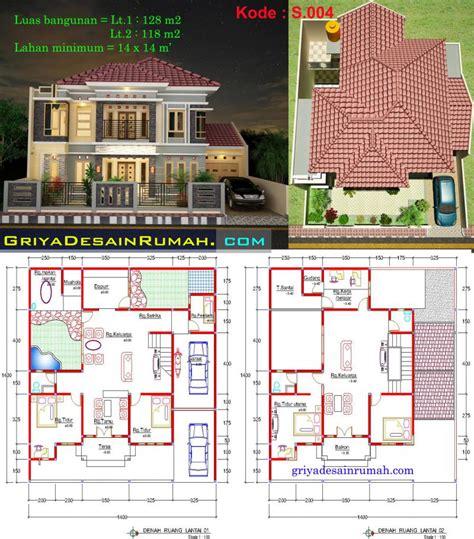 desain rumah mewah  lantai  bekasi jasa desain rumah