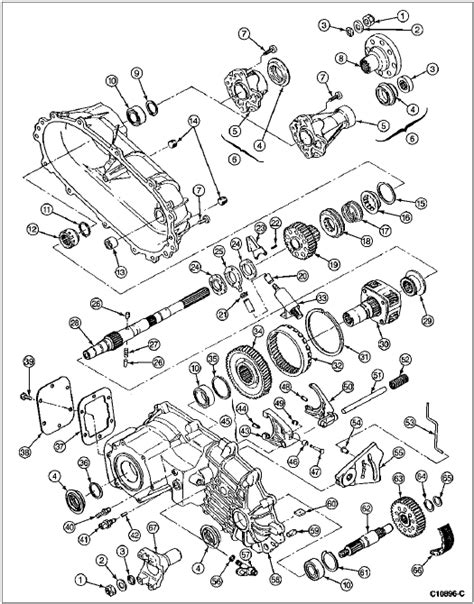 2003 Ford F 150 Transfer Diagram ford f150 parts diagram 2003 periodic diagrams science