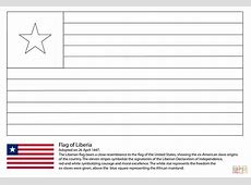 Flag of Liberia coloring page Free Printable Coloring Pages