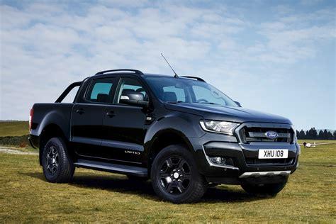 limited ford ranger black edition pick  truck revealed