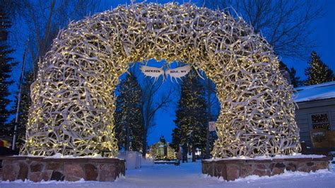Americas 20 Best Small Towns For Christmas Jackson Hole