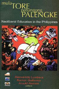 mula tore patungong palengke neoliberal education