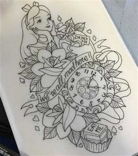 25+ Best Ideas About Wonderland Tattoo On Pinterest