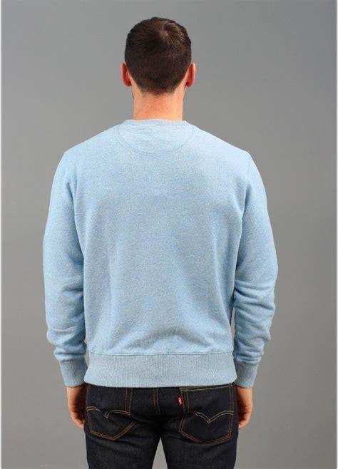 light blue crew neck sweatshirt lyle scott vintage long sleeved crew neck sweater light blue