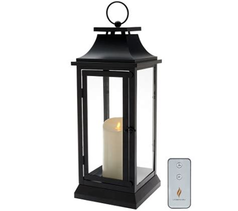 luminara 19 quot heritage indoor outdoor lantern with