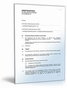Vertrag Haushaltshilfe Minijob : arbeitsvertrag f r taxifahrer ~ Lizthompson.info Haus und Dekorationen