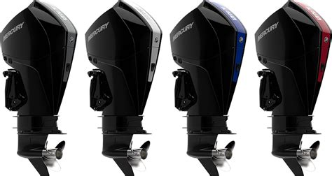 Mercury Outboard Motor Lineup by Mercury Marine Introduces New V 6 Fourstroke Outboard