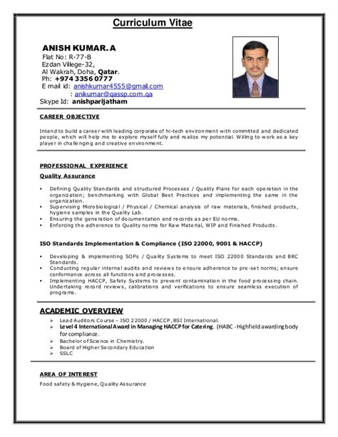 sle cv for qatar airways image collections