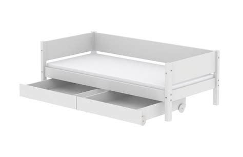 White Von Flexa Bett Mit Schubladen 90 X 200 Cm Kinder