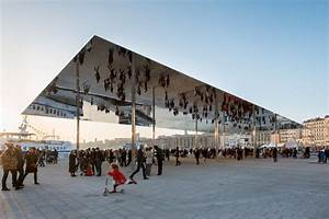 The port vieux pavilion a mirrored canopy constructed on for The port vieux pavilion a mirrored canopy constructed on a french wharf