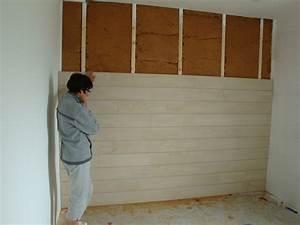 Comment Poser Du Lambris Pvc : bardage bois interieur pour chalet ~ Premium-room.com Idées de Décoration
