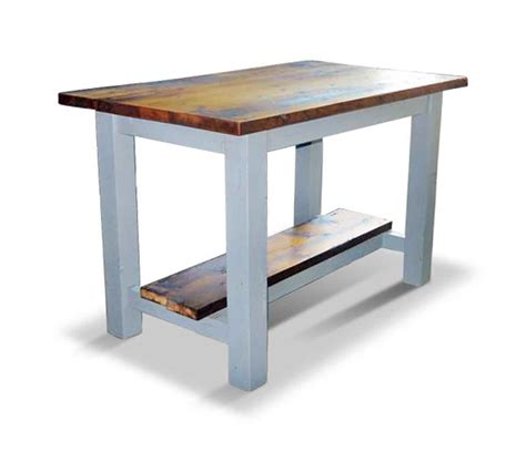kitchen island as table reclaimed pine kitchen island or work table olde things