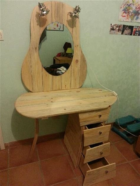 diy vanity table plans pallet dresser with drawers ideas pallets designs