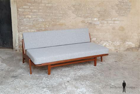 canapé alsace canapé daybed vintage scandinave en teck a w iversen kvadrat