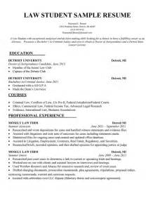 best law student cv sles 302 found