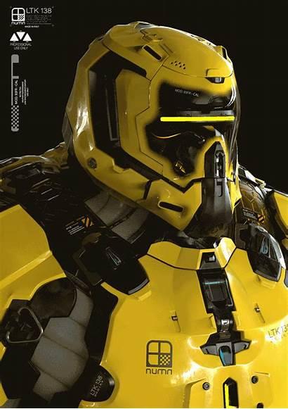 Artstation Concept Pigs War Numa Armor Surface