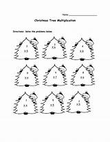 Worksheets Christmas Math Grade Printable Multiplication Printables Maths Ks1 Fact Code Lessons Secret Coloring Facts Addition Template Simple Elf Tree sketch template