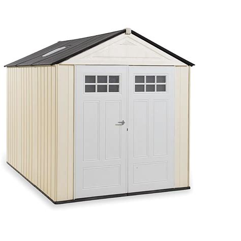 10 x 10 resin shed rubbermaid 174 1825260 outdoor resin storage shed 7 x