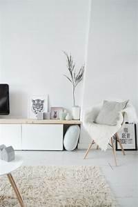 Ideen Fürs Wohnzimmer : wohnzimmer ideen f r dein perfekten skandi look wohnzimmer einrichtung pinterest ~ Buech-reservation.com Haus und Dekorationen