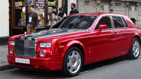 rolls royce phantom garish chrome red funniest