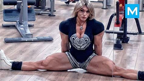 biggest russian female bodybuilder nataliya kuznetsova