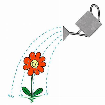 Watering Doodle Spring Mg Studio Sticker Giphy