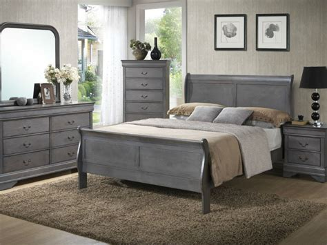 Gray Louis Phillippe Bedroom From Seaboard Bedding And