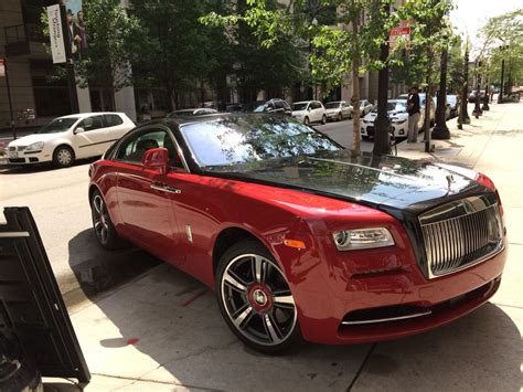 red black rolls royce ready  roll oo  favorite car