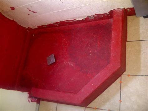 Glass Tile Redguard by Shower Pan On Basement Floor Ceramic Tile Advice Forums
