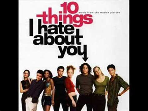 Soundtrack  10 Things I Hate About You  Cruel To Be Kind