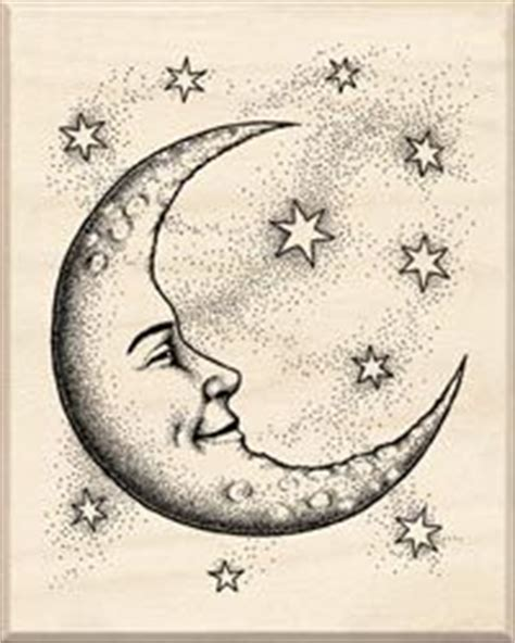 crescent moon face drawing google search faces pinterest face drawings moon face  search