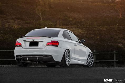 alpine white bmw    vmr wheels