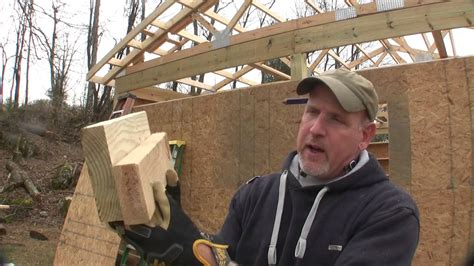 how to build pole shed how to build a pole barn pt 6 sheeting wrapping