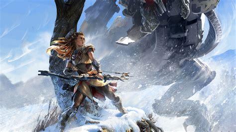 horizon  dawn hd games  wallpapers images