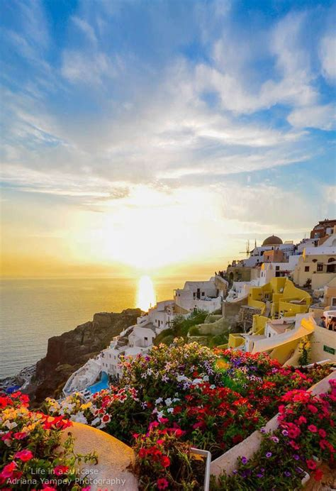 Santorini Grecce Greece Pinterest Beautiful Places