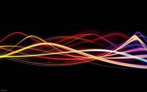 lightwaves - lines of light Desktop Wallpaper | iskin.co.uk