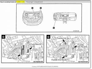 2000 Mitsubishi Mirage Fuse Box Diagram Html