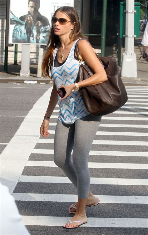 SOFIA VERGARA in Tight Pants Out and About in New York ...