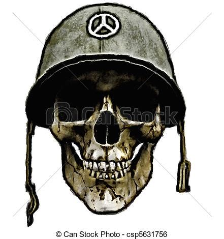 dead american soldier  human skull   dead soldier