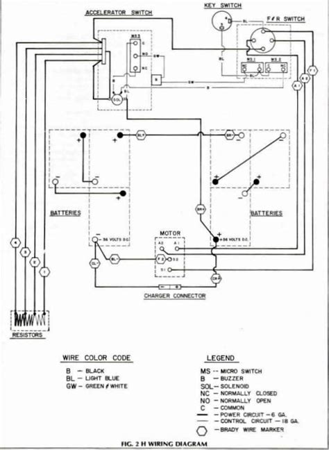 wiring diagram for golf cart batteries ez go golf cart battery wiring diagram fuse box and