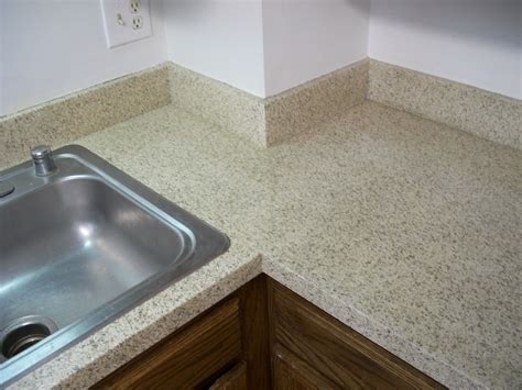 Stone Flecks Countertop Refinishing