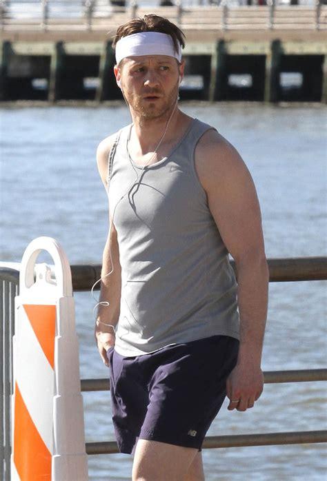 ben mckenzie jogging  nyc april  pictures popsugar