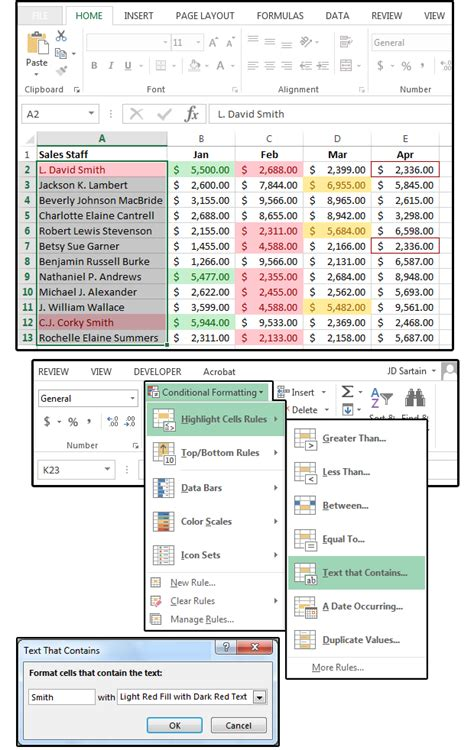 Format Exle by How To Use Microsoft Excel S Conditional Formatting Pcworld