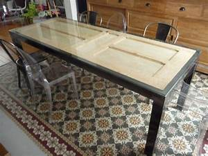 table de salle a manger originale art industriel With table de salle a manger originale