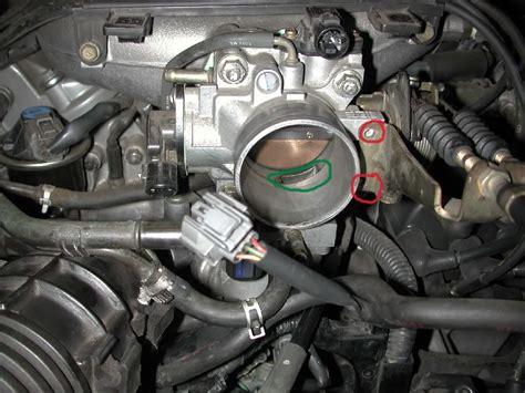 service manual   clean idle air valve  acura mdx