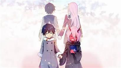 Darling Franxx Zero Hiro Been Its Anime