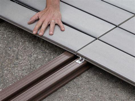 Terrasse Wpc Unterkonstruktion by Verlegehinweise Mydeck Dielen Einfache Handhabung In