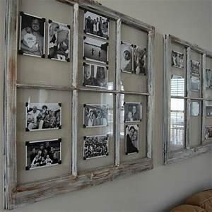 Cadre Pele Mele Photo Geant : fabriquer un cadre photo 60 id es pour un objet valeur sentimentale ~ Teatrodelosmanantiales.com Idées de Décoration