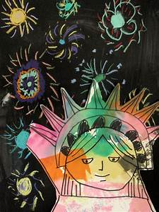 doodle all day kid project statue of liberty with